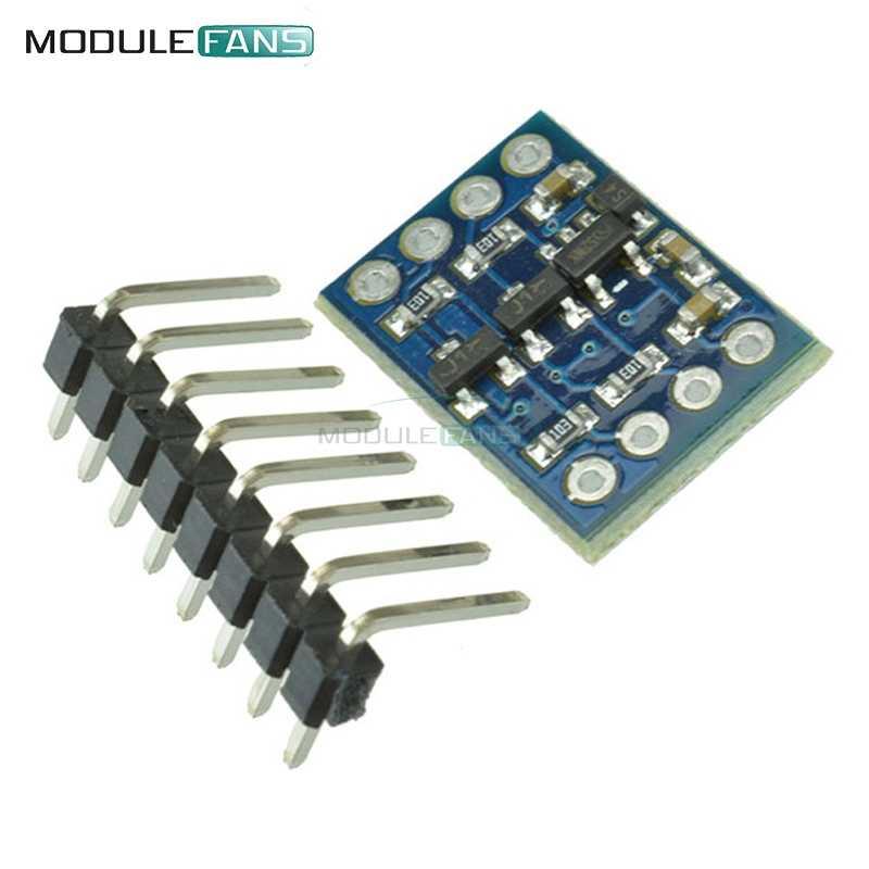 1 pièces IIC I2C Module de Conversion de niveau 5 V-3 V système pour Arduino système Compatible capteur 5V à 3V