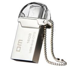 Free shipping DM PD008 OTG USB 100 16GB USB Flash Drives OTG Smartphone Pen Drive Micro