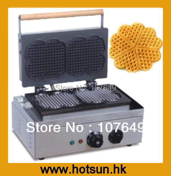 110V 220V Electric Waffle Belgian Liege Waffle Baker Maker Machine Iron