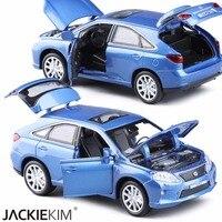 Nuevo 1:32 Aleación Diecast Modelo de Coche LEXUS RX450 Tire Del Juguete Modelo de coche clásico Coche Coches Electrónica Para Los Niños Juega El Envío Libre