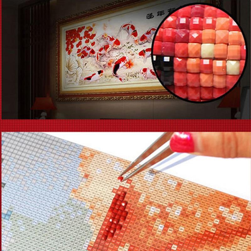 Нов 5D DIY диамант картина кристал - Изкуства, занаяти и шиене - Снимка 4