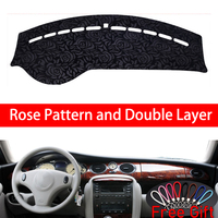 Rose Pattern For MG MG7 2007 2008 2009 2010 Dashboard Cover Car Stickers Car Decoration Car Accessories Interior Car Decals