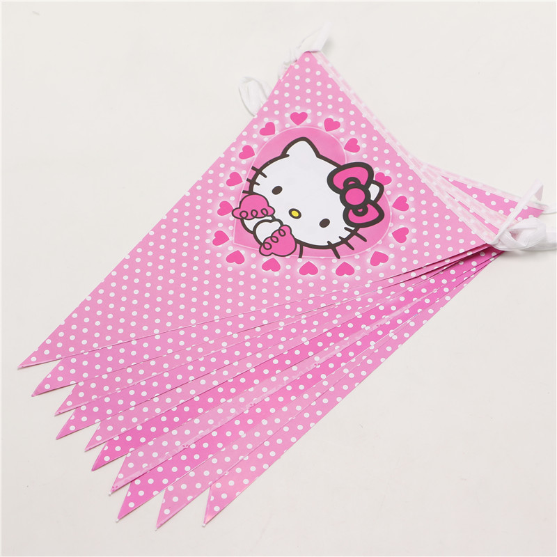 5bb369a72 1Pack 52pcs Luxury Kids Birthday Party Decoration Set Hello KItty Theme  Party Supplies Baby Birthday Party For 10 People Use-in Disposable Party  Tableware ...