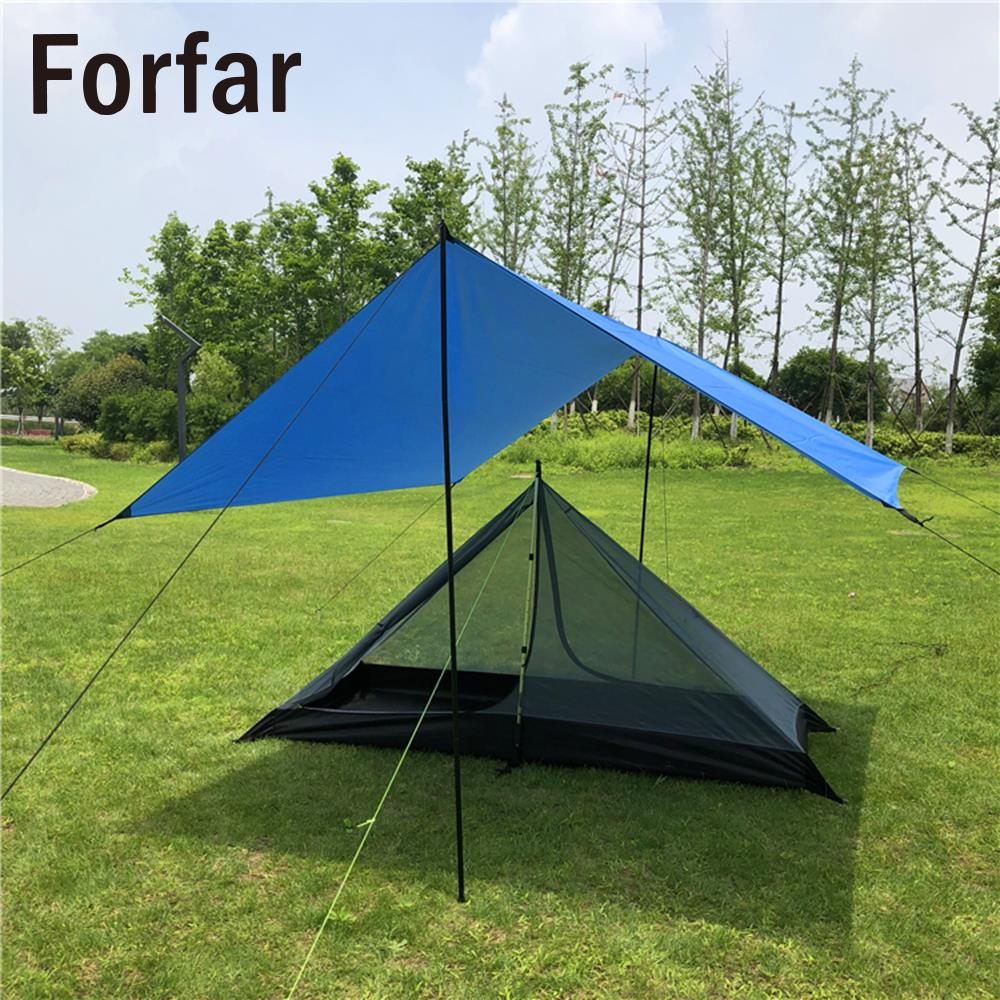 Waterproof Pyramid Tent Durable Oxford Green Single Folding Tent Large Tent Camping Travel Hiking Outdoors Bedding hot sale outdoor survival travel camping climbing waterproof folding single tent
