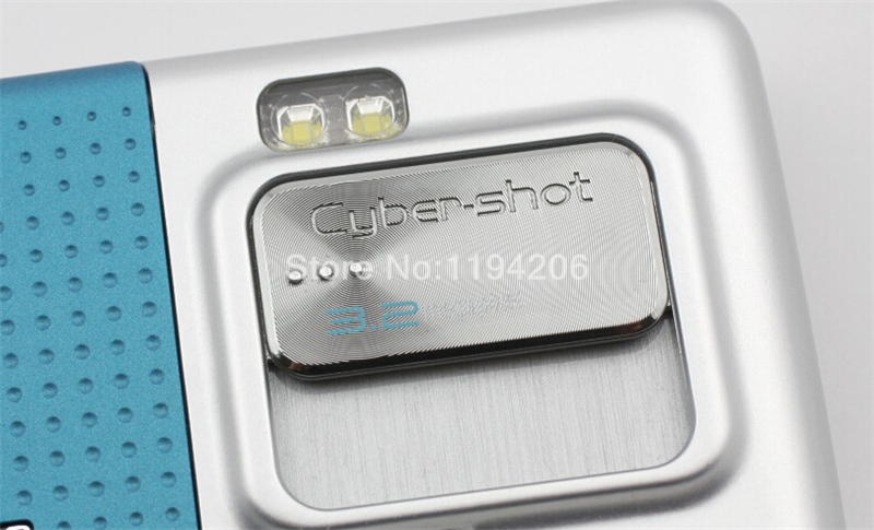 Refurbished phone SONY Ericsson C702 unlocked Smartphone GPS 3G 3.15MP bluetooth mp3 player blue 4