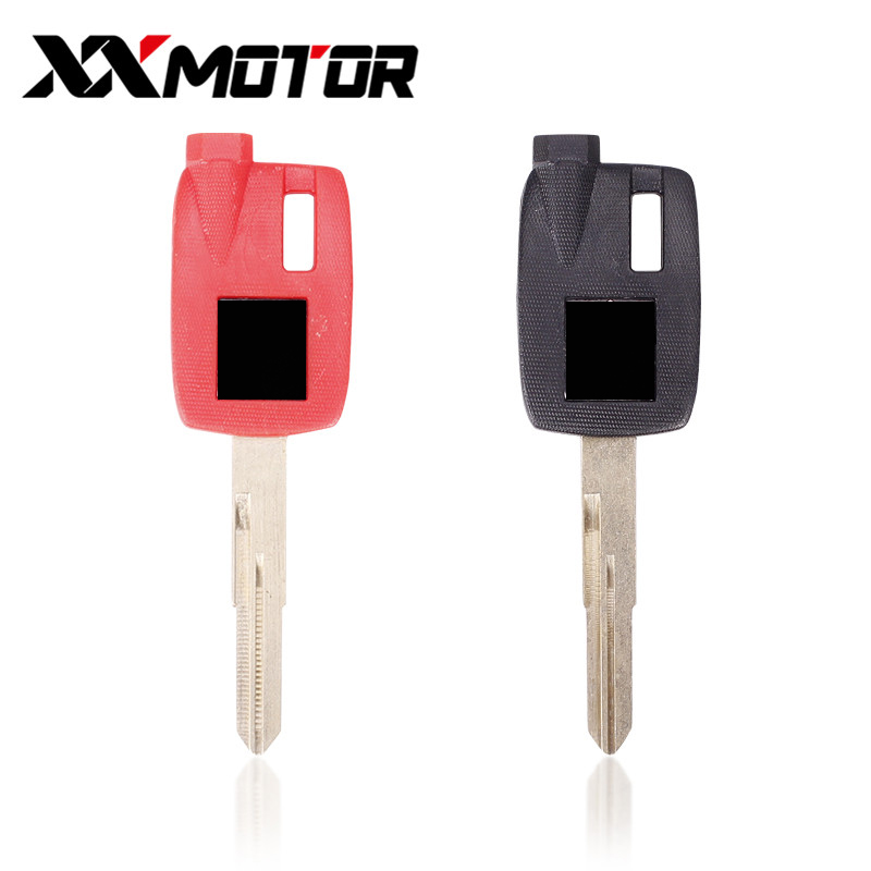 Motorcycle Uncut Blade Blank Key For Suzuki Magnet Motorcycle Anti-theft Lock Keys AN250 AN400 AN650 Magnetic Burgman