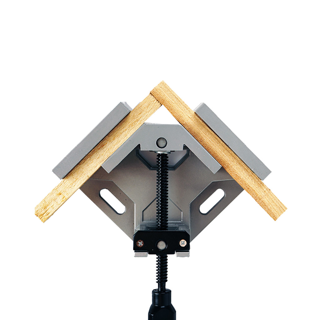 90 Degree Aluminum Alloy Right Angle Clip Woodworking Frame Folder Glass Tools