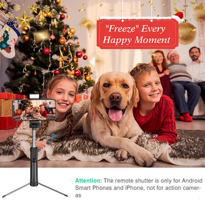 Image 5 - Mpow 3 in 1 Bluetooth Selfie Stick Tripod With Fill Light Wireless Remote Control Selfie Stick Bluetooth Control For Huawei P30