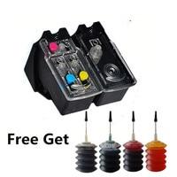 1 Set PG 40 CL 41 Refillable Ink Cartridge compatible For Canon Pixma MP140 MP150 MP160 MP180 MP190 MP210 MP220 MP450 MP470