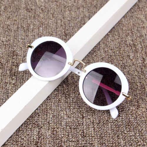 2019 nouveau mode enfant bébé rétro plage jouets lunettes Anti-UV lunettes nouveau garçons filles vacances en plein air lunettes de soleil jouets accessoires