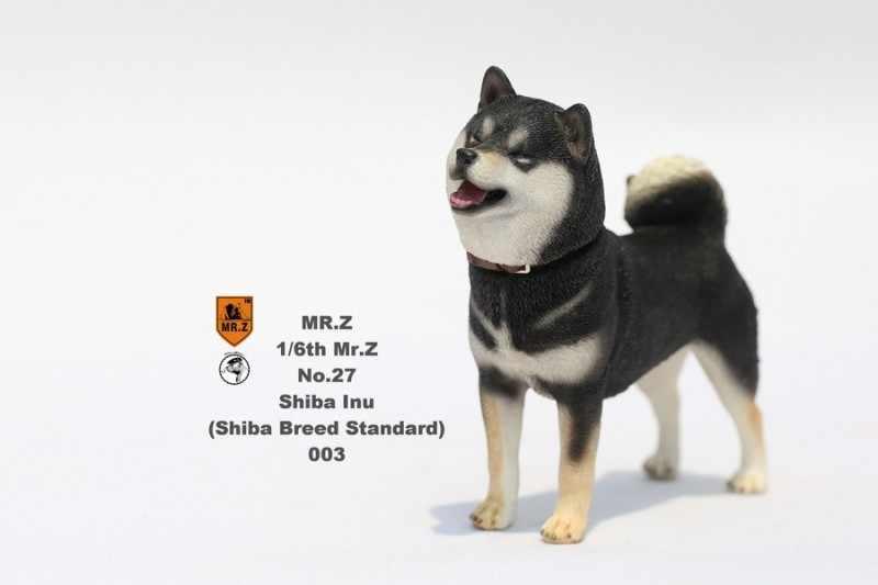 1/6 escala cão de trabalho modelo pastor alemão com colar anime estátua para 12 polegadas figura ação acessórios coleções