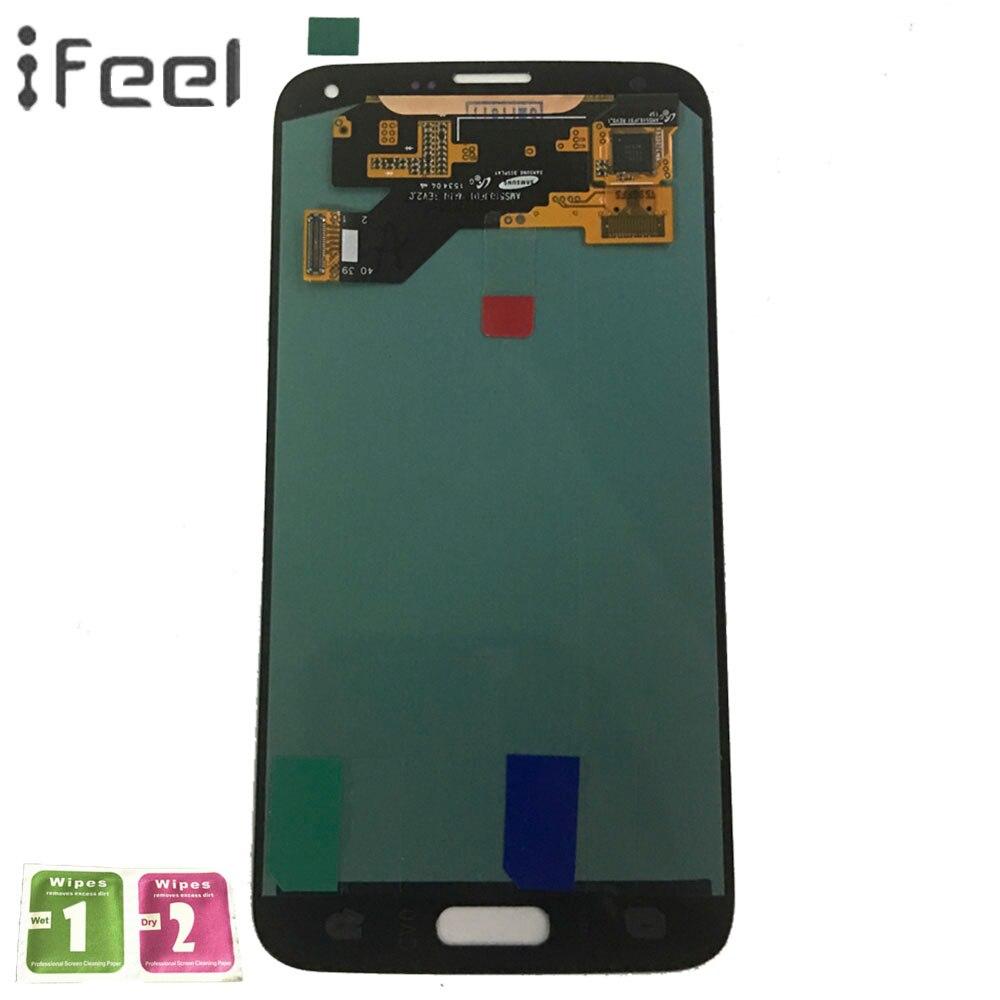 IFEEL Super AMOLED LCD Pour Samsung Galaxy S5 Neo G903 G903F Téléphone Lcd Affichage Tactile Assemblée D'écran de Remplacement