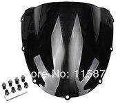 Dark Smoke Windscreen Windshield Case For Honda CBR 954 RR CBR954RR 2002 2003