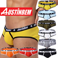 Free shipping!High quality brand AUSTINBEM briefs men's fashion underwear sexy soft cotton pants men's gay underwear