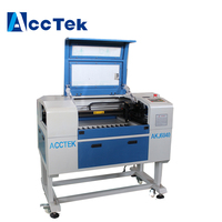 Mini CO2 Laser Engraving Machine For Rubber Acrylic Wood Paper Coated Metal