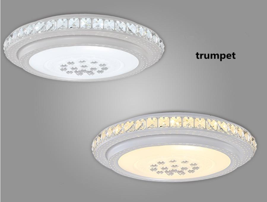 Plafoniere Di Cristallo : Rotondo ha condotto la lampada di cristallo plafoniera camera da
