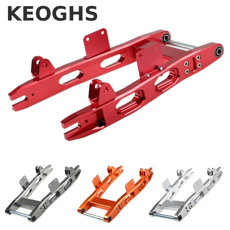 Keoghs Motorcycle Rear Swing Arm/flat Fork Cnc Aluminum Alloy For Xiaoniu N1 Electric Scooter Yamaha Kawasaki Modify самокат larsen scooter gss s2 001 n c n s