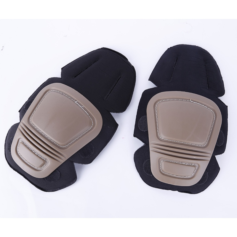 2 Pcs Adult Outdoor Tactical Airsoft Paintball Combat Knee Pad Support Knee Protector Protective Knee Pads