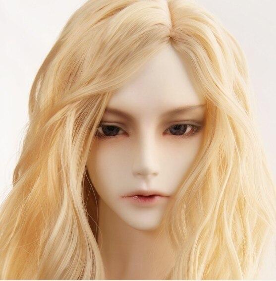 (9-10 pulgadas) de alta temperatura peluca bjd yosd luts sd volks iplehouse dollchateau interruptor de cuento de hadas alta 9