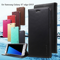 For Samsung S 7 Edge Phone Bag MERCURY GOOSPERY Blue Moon PU Leather Wallet Cover Case