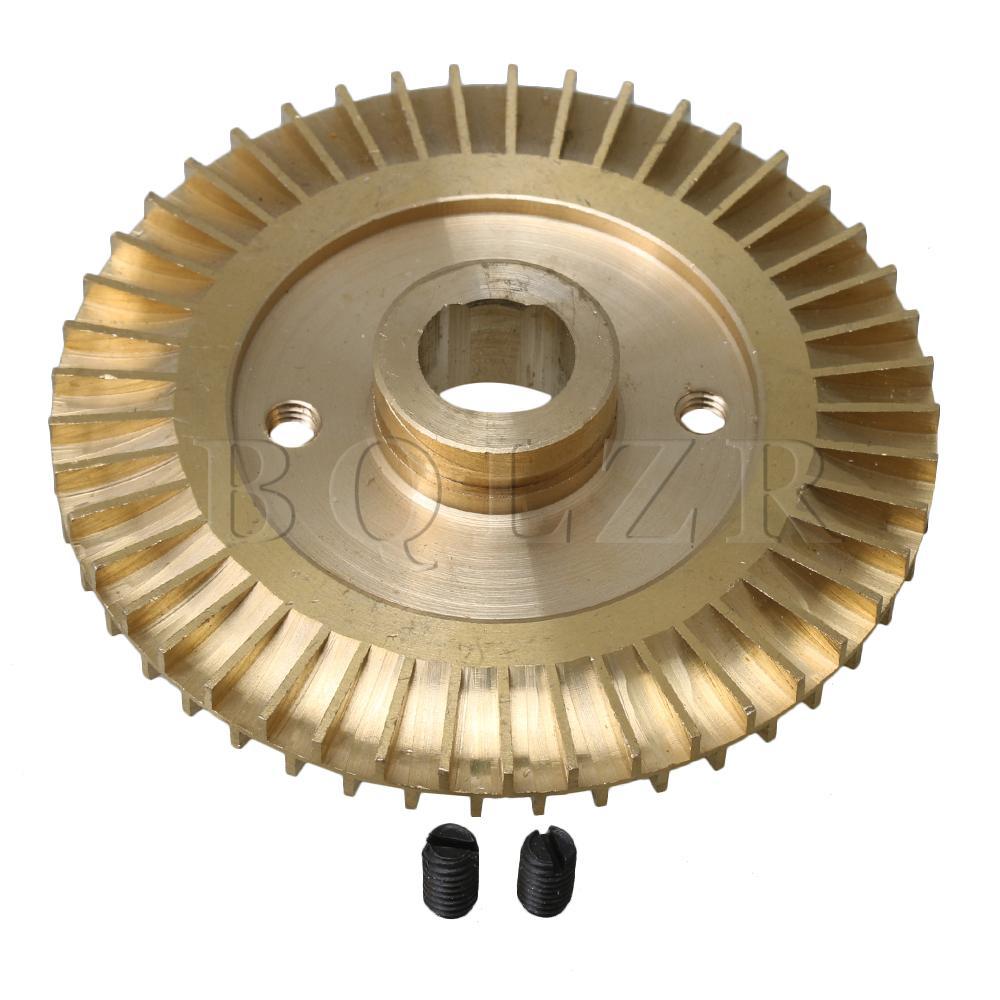 Nett Bqlzr 8 Cm Dia Goldene Doppelseitige Doppel Flache Wasserpumpe Laufrad Ersatz Teile Home