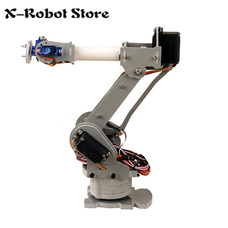ABB IRB4400 Industrial robots scaled model 6DOF robot arm for Teaching and Experiment 6-Axis Desktop Robotic Arm economic injectable training arm model with infusion stand iv arm injection teaching model