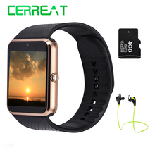 GT08 Bluetooth Smart часы телефон Поддержка TF sim-карты Камера SmartWatch Reloj inteligente для Android IOS PK DZ09 GD19