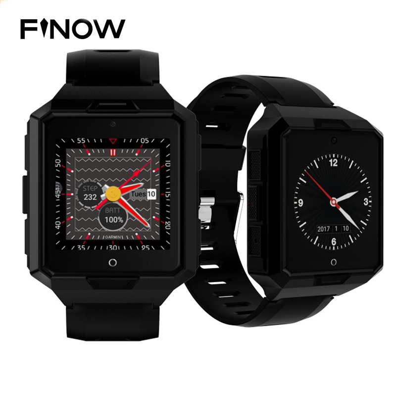 4G Network Smart Watch M9 IP67 Waterproof Android 6.0 MTK6737 1G+8G Smartwatch 850mAh Battery Long Standby Sport Watch for Men