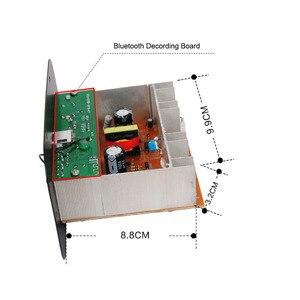 Image 3 - جهاز تضخيم الصوت متن سيارة FM Raido ل بلوتوث مكبرات الصوت 12 V 24 V 220 V ل 5 8 بوصة RCA باس المتحدثين DIY