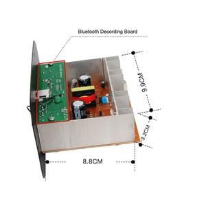Image 3 - Subwoofer Amplifier Board Car FM Raido Bluetooth Audio Amplifiers 12V 24V 220V For 5 8inch RCA Bass Speakers  DIY