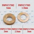 ERIKC 10 шт./лот Common Rail Топливные форсунки медные шайбы F00VC17504 дизельные форсунки тепловой щит F00VC17503 F00VC17505 для BOSCH