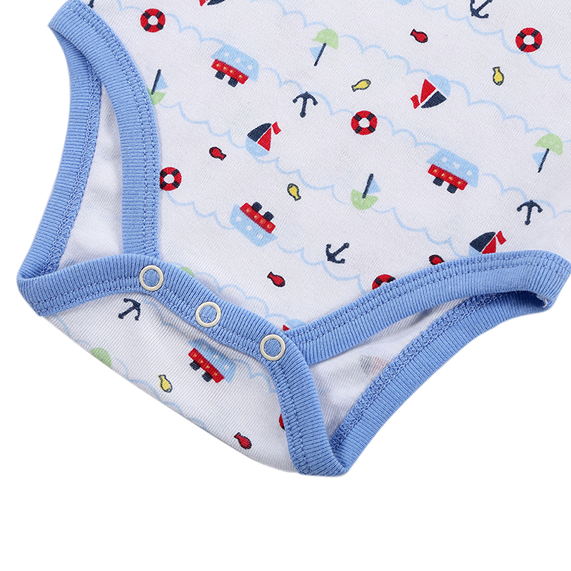 0M-12M Baby Bodysuits Spring Babies Newborn Cotton Body Baby Short Sleeve Infant Boy&Girl Clothes