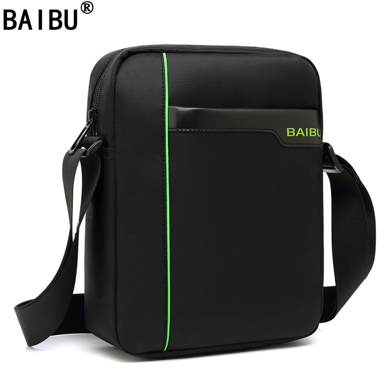 BAIBU New Arrivals Mark Ryden Casual Messenger Bags Waterproof Flap Pocket Mens Crossbody Bag Single Strap Shoulder Bags