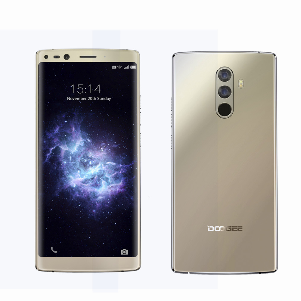 Original DOOGEE MIX 2 4G Mobile Phones Android 7 1 6GB 128GB Octa Core Smartphone 4