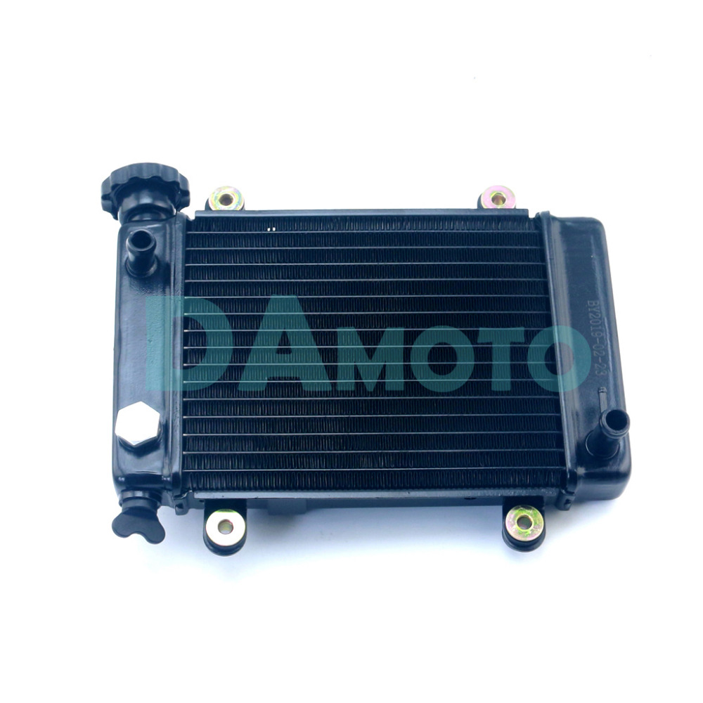 ATV Water Cool Radiator For Chinese 200cc 250cc Racing Quad Go Kart Buggy 4 Wheeler