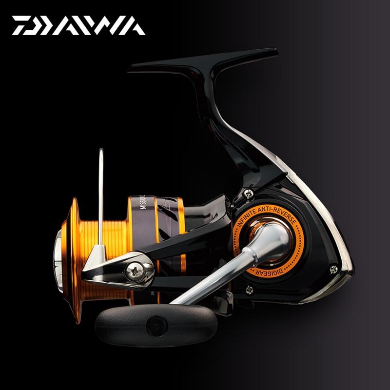 DAIWA MISSION CS S 100% оригінальна спінінгова рибальська котушка 2000S 2500S 3000S 4000S 3 + 1 кульковий підшипник DIGI GEAR II TWIST BUSTER