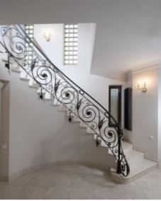 Hench 100 Handmade Forged Custom Designs Wrought Iron Railings | Wrought Iron Stair Railing Cost | Spiral Staircase | Traditional | Background | Raw Iron | Rot Iron