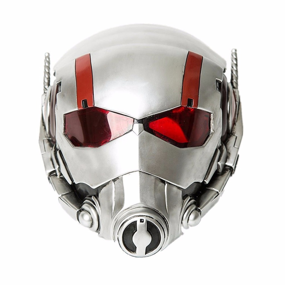 Ant Man PVC Mask Helmet Props Cosplay for Adult Halloween Decoration