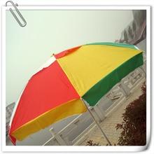 2 m 35 windproof umbrella sun Double Top ads customized printed logo large outdoor umbrellas wholesale custom