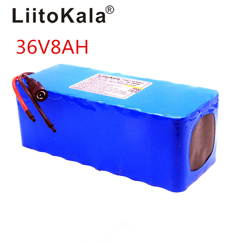 liitokala 36 V 8ah battery with high capacity Lithium batter pack does not include 42 V 2A chager liitokala 36v 8ah 8000mah battery pack high capacity lithium batter pack include 42v 2a chager