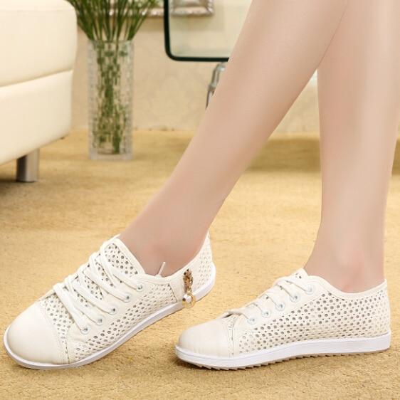 White Shoes Fashion Korean