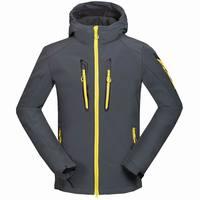 2019 New Winter Men's SoftShell Hoodies Fleece Jackets Coats Fashon Casual Windproof Mens High Quality Coats S XXL