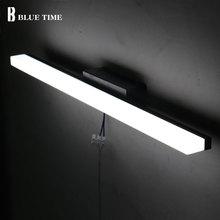 LED Wall Light Wandlamp For Bathroom Mirror Front Light Acrylic Sconce Wall Lamp Bathroom Lamp Anti-fog Waterproof 60 80 100CM недорого