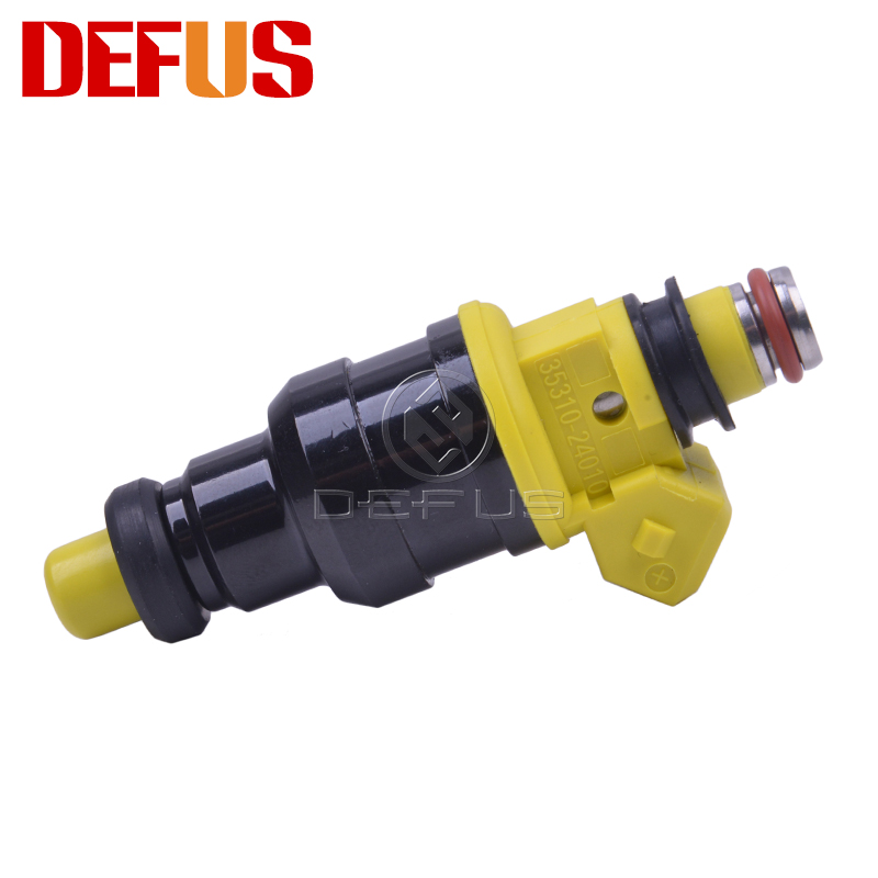 4x Fuel Injector For Hyundai Excel Scoupe Mitsubishi Precis 90-94 35310-24010 Car Petrol Engine Injector Valve Nozzle Injection
