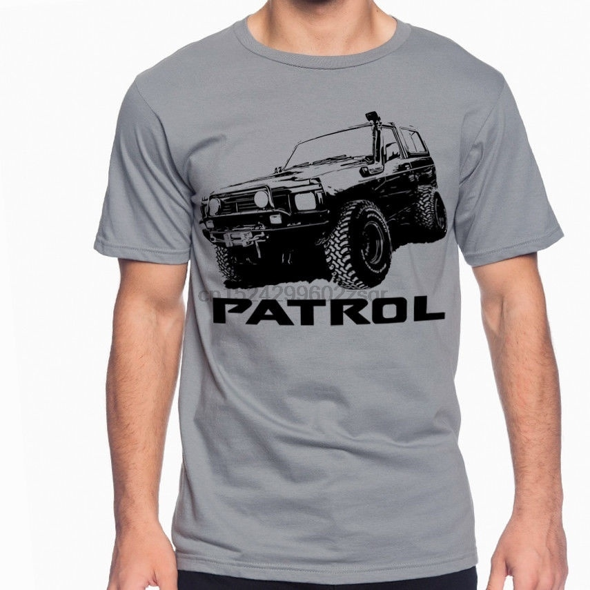 Be Novel In Design 1 Nissan Patrol Premium Mens T-shirt Fashion Tee Shirt Casual Funny Tops Clothing