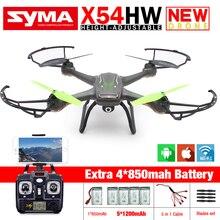 New Syma X54HW FPV RC font b Drone b font with WIFI Camera 2 4G 6