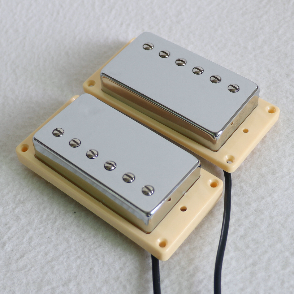 Sell Free Shipping N B 1 SET Alnico 2 Chrome cover humbucker lp guitar pickup with