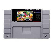 Big Promotion Super bomberman 5 Game Card For 46 Pin 16 Bit NTSC Game Player Save File!