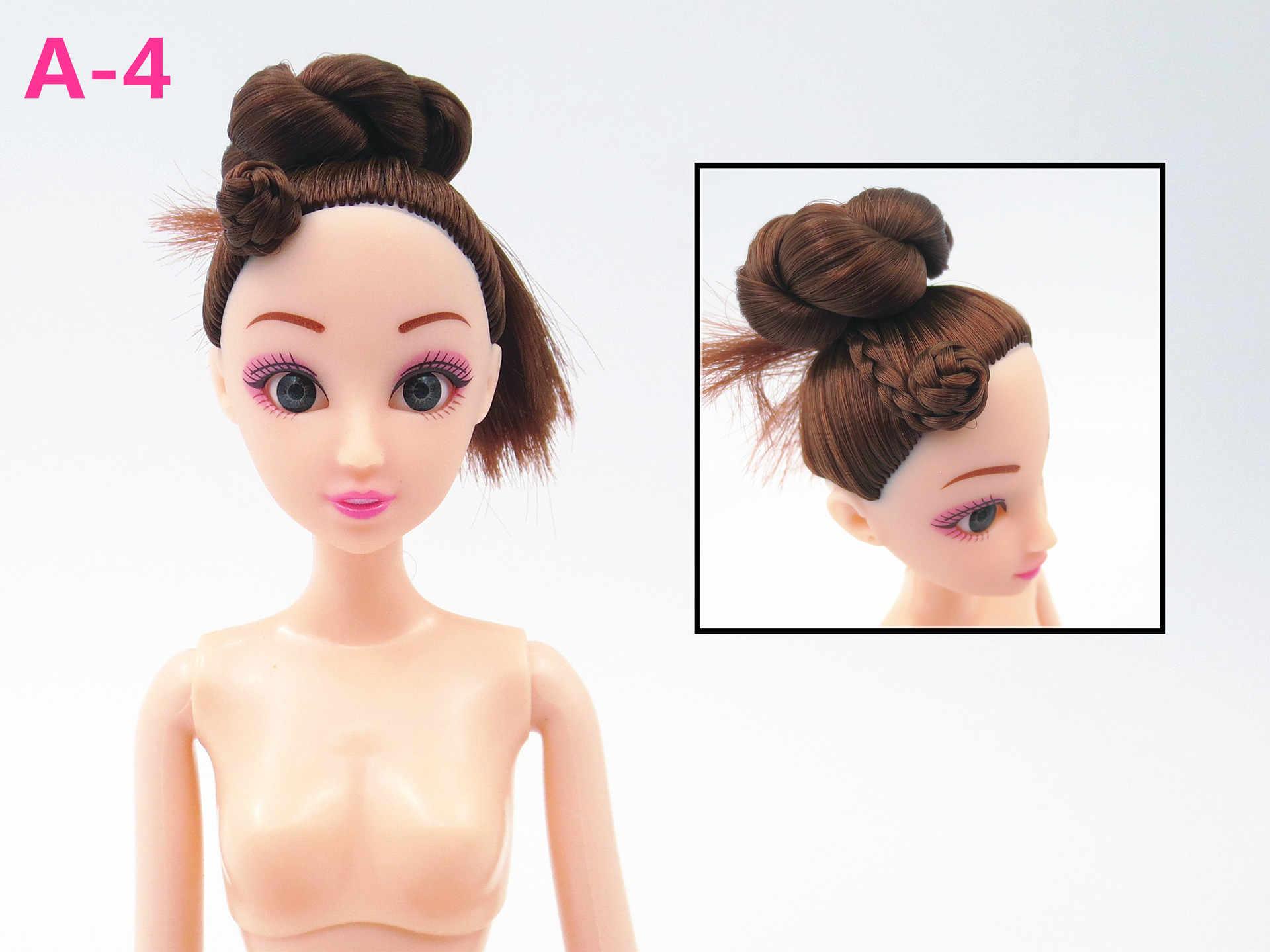 1 шт., кукла Обнаженная, 3d, реалистичный глаз, Bjd, сделай сам, обнаженные тела, азиатская голова, 12 подвижных шарниров, игрушки для тела для девочки, подарок, кукла