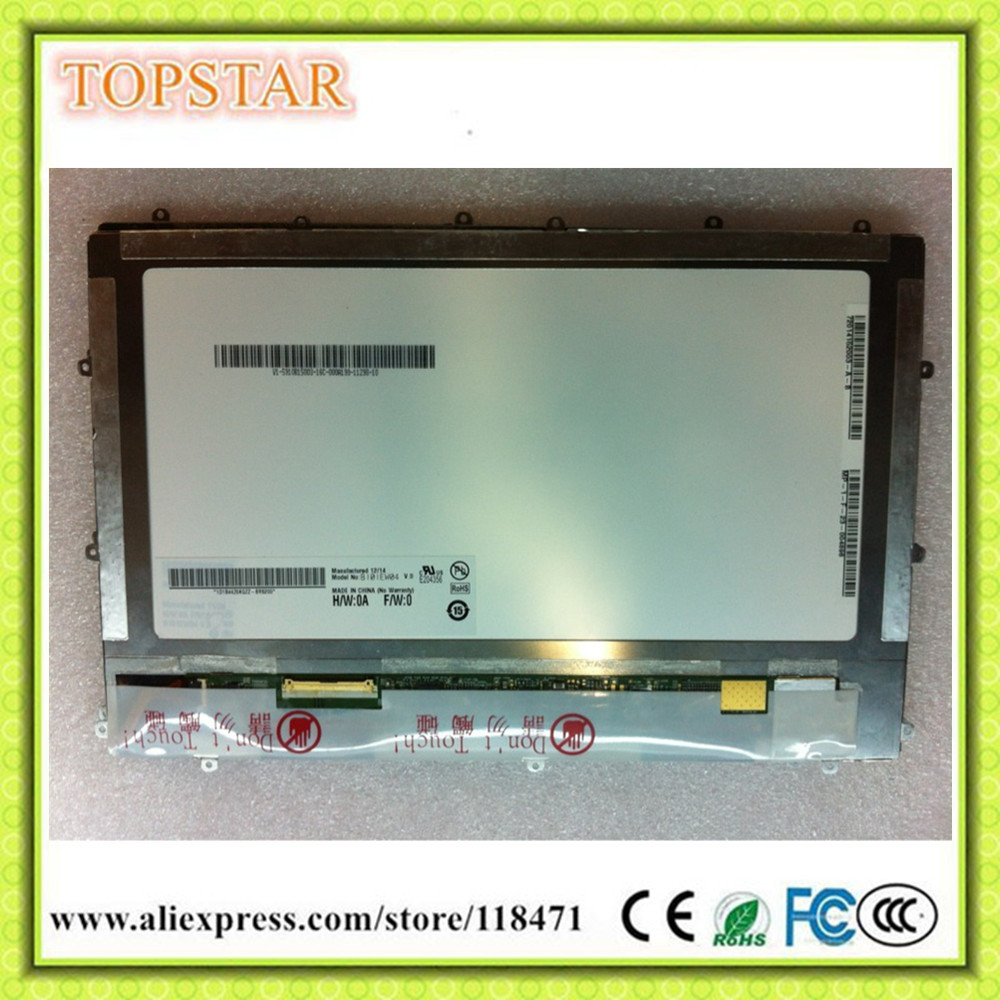 10.1 Inch TFT LCD Panel B101EW04 LCD Panel 1280 RGB*800 WXGA LVDS LCD Display WLED LCD Screen 1ch,8-bit